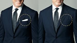 「ポケットチーフ」ってどんな意味があるの?【ビジネスの装いルール完全BOOK】