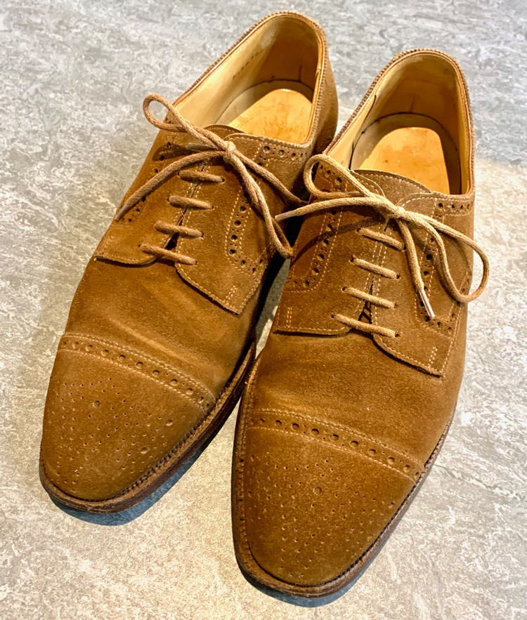 GEORGE CLEVERLEY DERBY SEMI BROGUE