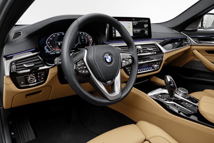BMW5シリーズ・セダン(G30)インテリア