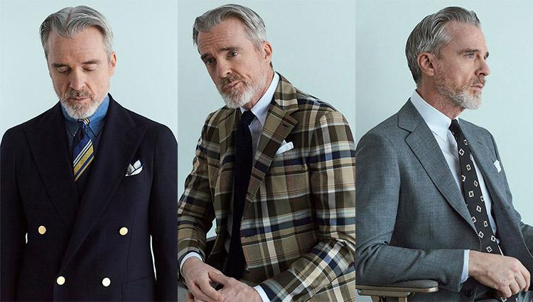 Mr. Davidが着る、2021春夏「スーツ&JK の胸元お洒落」キーワード5