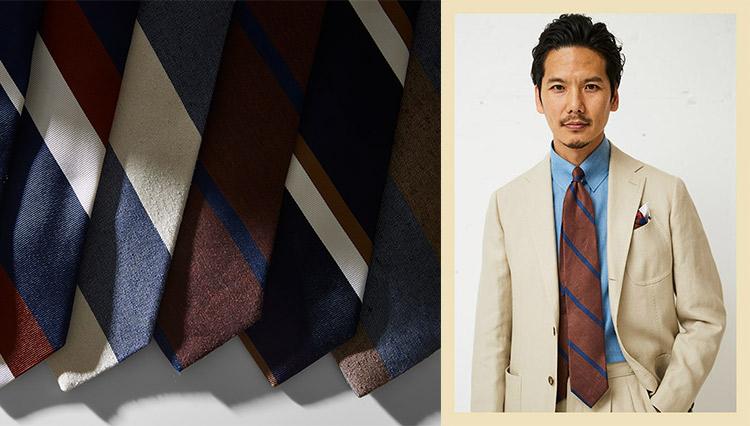 ノータイの装いが急増する今、「ブリューワー」のネクタイはなぜ支持されるのか?