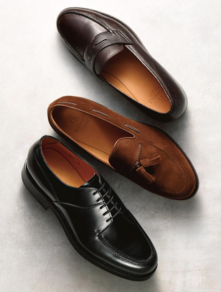 オリエンタルの革靴