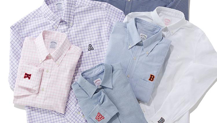 ブルックス ブラザーズ 大阪で期間限定ポップアップが開催! 刺繍サービスでオリジナルシャツにカスタムできる