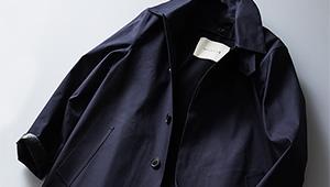 ステンカラーコートの傑作マッキントッシュ「ダンケルド」、この春どう着こなす?