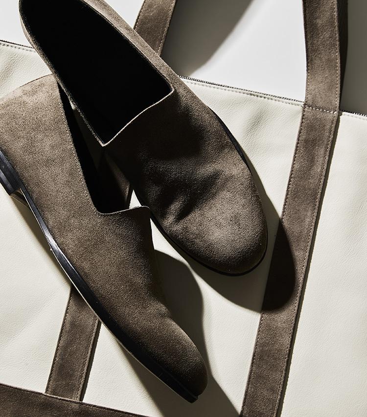 """シップス別注の""""ポルペッタの靴と鞄""""_アップ"""