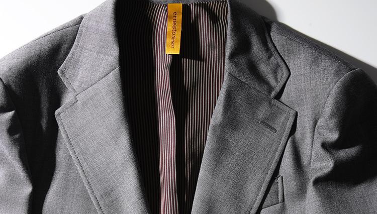 アメトラの象徴「グレー無地スーツ」をイタリアの匠が作ったら……?