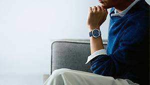 男の魅力を代弁する腕時計「ムッシュー ドゥ シャネル ブルーエディション」
