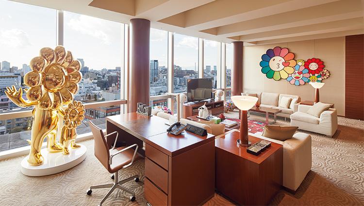 これぞ村上 隆ワールド! グランド ハイアット 東京の豪華宿泊プランとは?