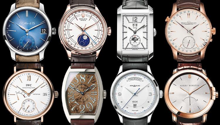 男の腕時計は「クラシック+ひとクセ」が面白い!【人気ブランド8選】