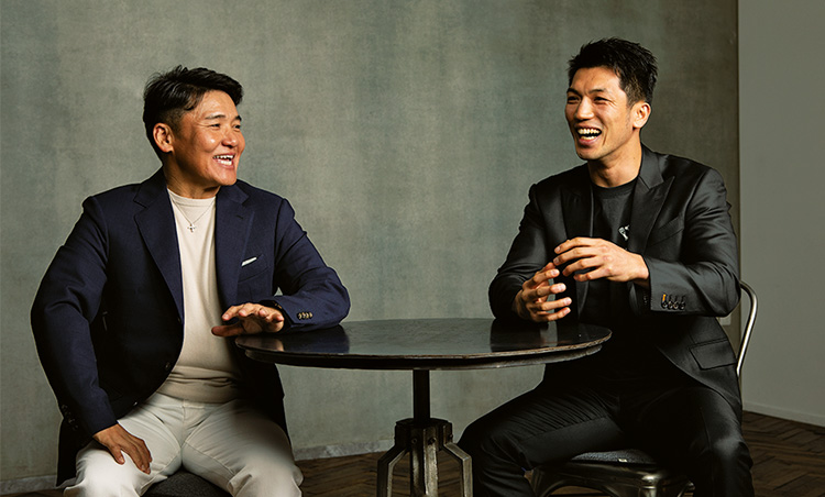 丸山さんと村田さんの和やかな対談