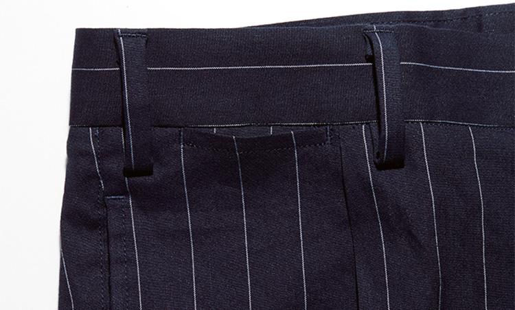 テーラード仕様のコインポケット