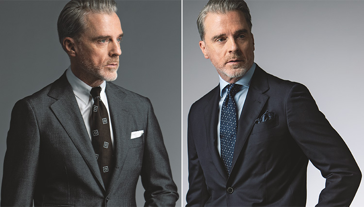 「ツヤのあるスーツ」と「ハリコシのあるスーツ」の違いは? どう着分けるべき?