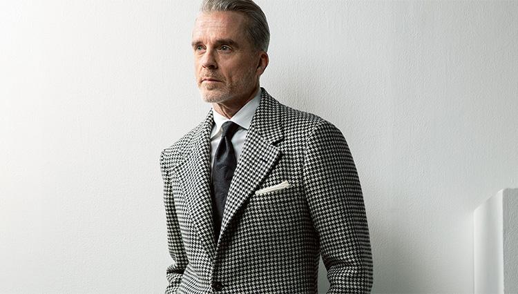 モデルのMr.Davidが感激した「掟破り」のオーダージャケットとは?