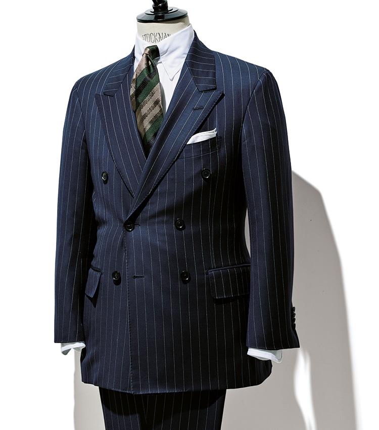 デフィールのダブルブレストスーツ