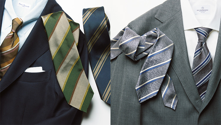 春スーツに最高な「エレガントストライプ」のネクタイを知っている?【meSTORE】