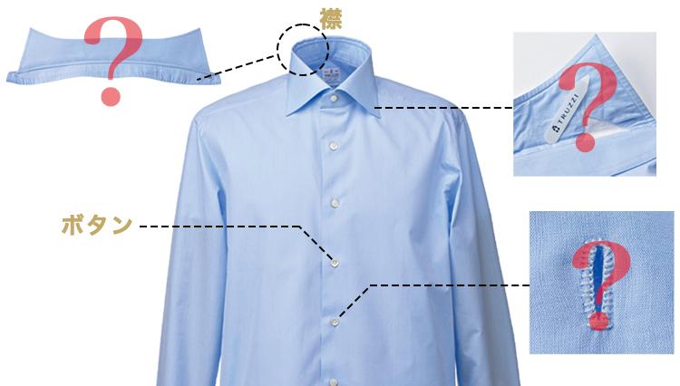 シャツ購入時に役立つ「ドレスシャツの基本構造」【ビジネスの装いルール完全BOOK】