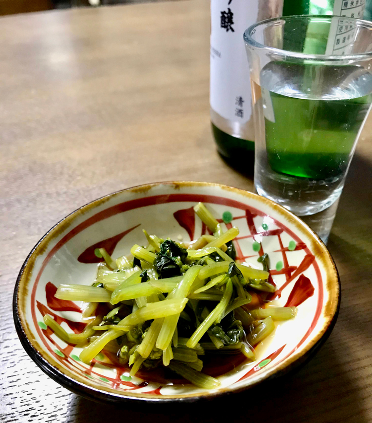 <p>日本酒のあてに最高。</p>