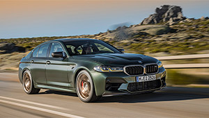 日本で限定わずか5台。全席サーキット仕様の4ドアセダン「BMW M5 CS」の実力は?
