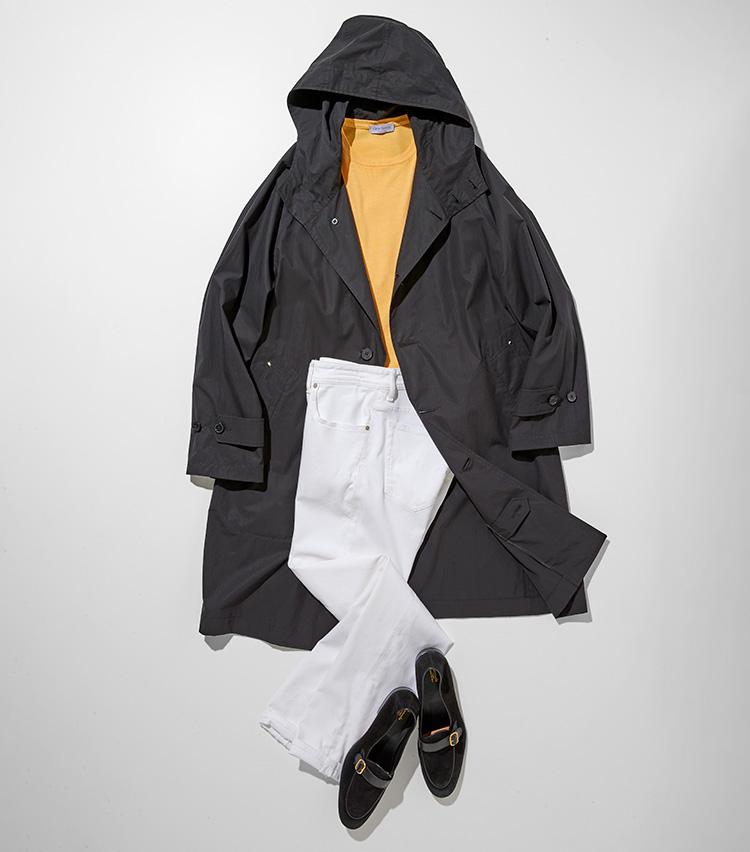 白黒デニムはモノトーン+1色で着る_P34サブ2