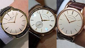 子や孫に受け継ぐ「一生モノ時計」を全国有名ショップで腕に乗せて比べた!