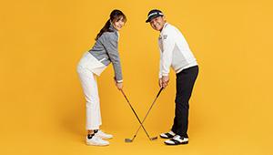 【特別対談】東京五輪ゴルフ日本代表ヘッドコーチ・丸山茂樹 × 新体操・坪井保菜美