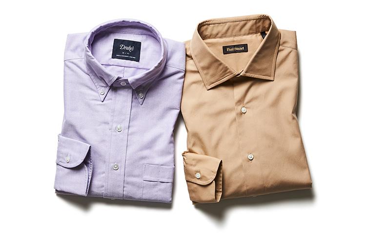 より洒落感の強いカラーシャツ