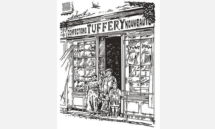 フランス最古のデニムブランド_タフェリー