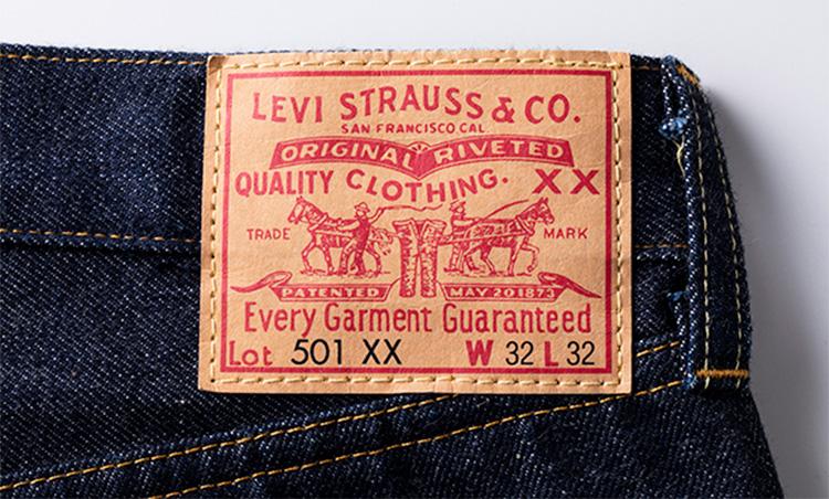 LEVI'S VINTAGE CLOTHING 1955モデル 501 JEANS RIGID タグ
