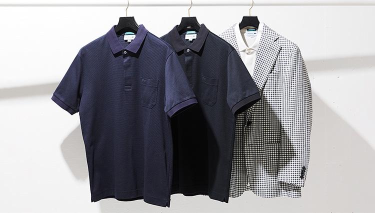 鹿の子のポロシャツ、ビジネスシーンにも取り入れやすいタイプは?