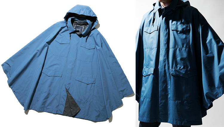 「雨の日はポンチョ」の選択肢、ドレス仕様なら通勤にもあり!?