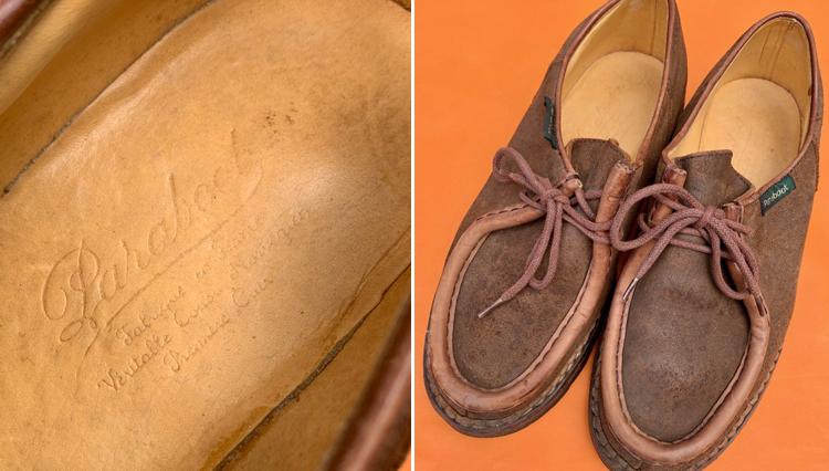 フレンチアイビー時代、ビームス中村さんの愛用靴は「パラブーツのミカエル」だった