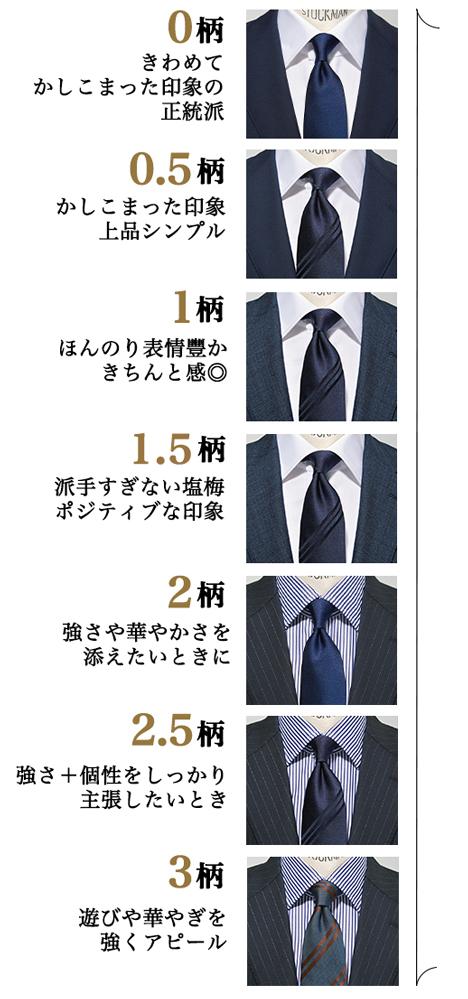 スーツの柄