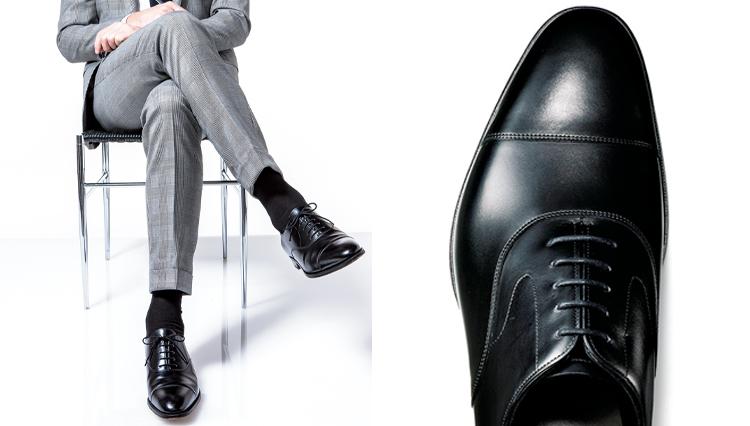 スーツに合わせる王道の一足「内羽根のストレートチップ」ってどんな靴?