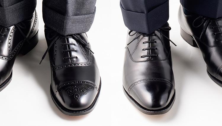 スーツスタイルの足元に「ブローグ靴」が人気急上昇。その効能は?