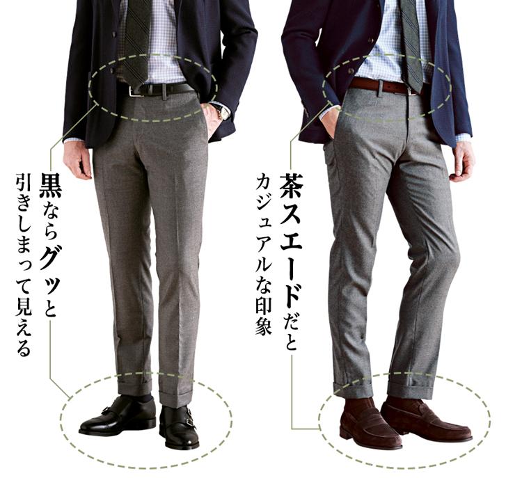 ベルトと靴