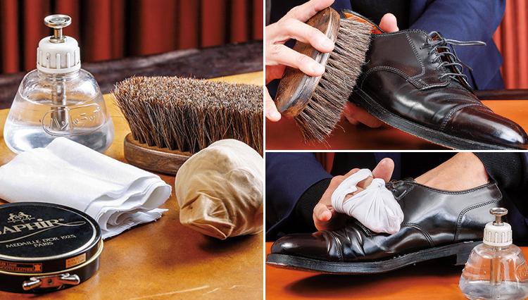 革靴は「10分メンテ法」で自分で磨こう!【ビジネスの装いルール完全BOOK】