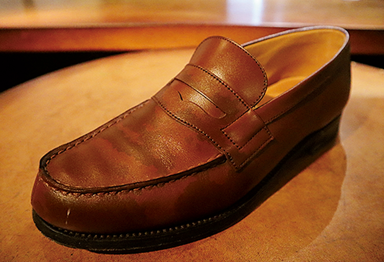雨で濡れた革靴のケア方法