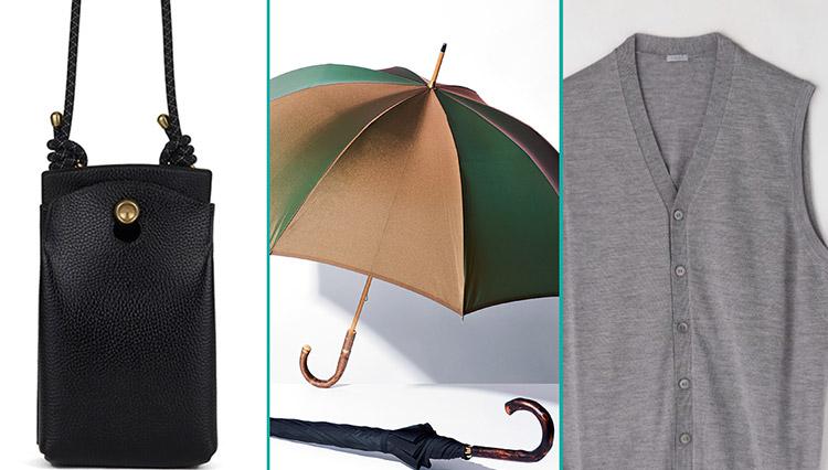 梅雨に長傘、お出かけにサコッシュ、在宅勤務にニットベスト【meSTOREで売れているモノ】