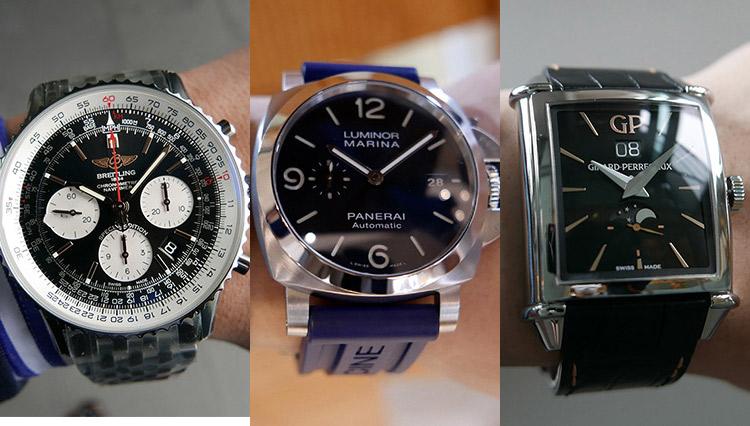 福岡の有名時計店で人気ブランドの時計9本を腕に乗せて比べた【Oro-Gio編】