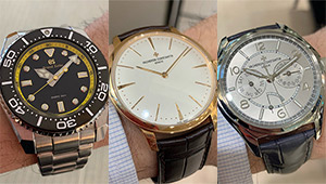 銀座の時計店で人気ブランドウォッチ9本を腕に乗せてみた【日新堂 銀座本店編】
