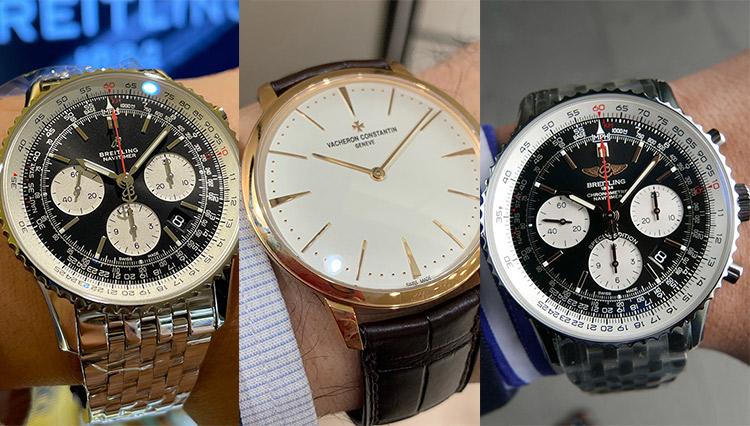 「絶対安心のロングセラーウォッチ」を全国有名時計店で腕に乗せて比べた!