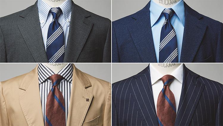 暑苦しいスーツ姿を回避する「リネンのネクタイ」実用コーデ4選