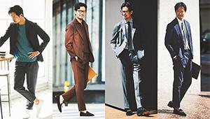 薄くて軽いセットアップ。仕事で着るなら「テーラード仕様」に限る!