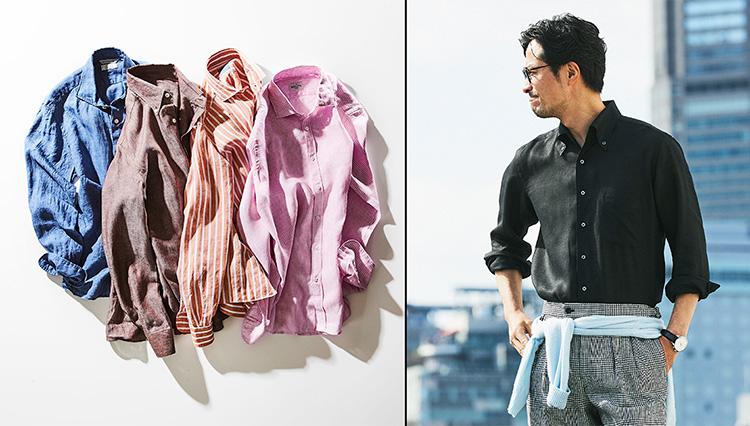 リネンのシャツを羽織るだけで「大人の夏」がやってくる!