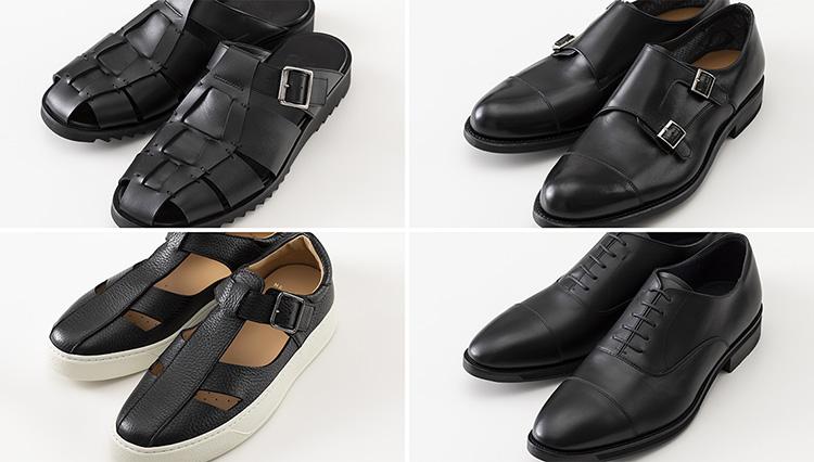 夏に重宝する通気性のいい革靴「オン靴&オフ靴」4選