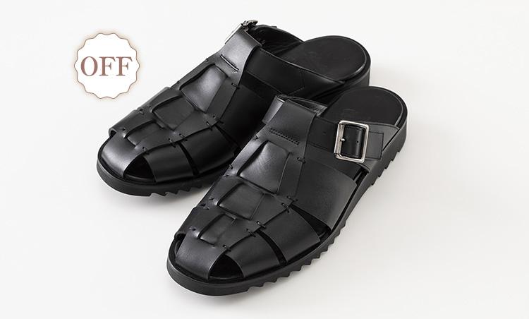 革でも通気性抜群なオン靴&オフ靴_パラブーツ フォー ユナイテッドアローズ