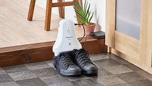 靴のニオイが気になる季節、パナソニックのナノイー脱臭機が優秀!