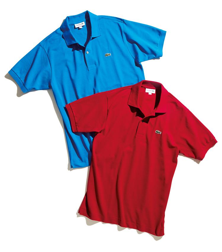 ラコステ「L.12.12」のカラーポロシャツ