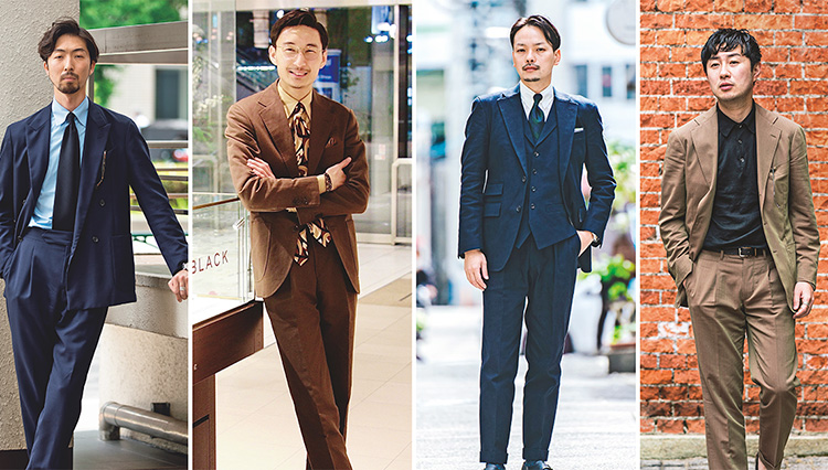 Suits You! of the month_4人のコーデ