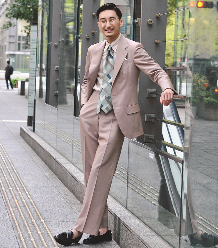 Suits You! of the month_阿由葉 銀河さん2